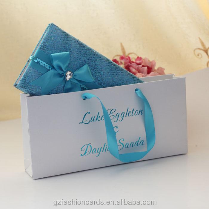 2015 Latest Luxury Elegant Wallet Wedding Invitation Card, View ...