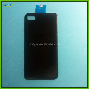 For BlackBerry Z10 battery cover black/ white