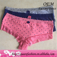 Ladies sexy inner underwear beautiful lace sexy lady girl panty 2016 pure 100 cotton best quality women lingerie