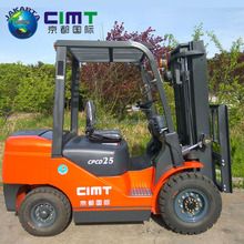 Cheapest price 10 ton Diesel Forklift Truck/small capacity diesel forklift trucks/double mast forklift made in china