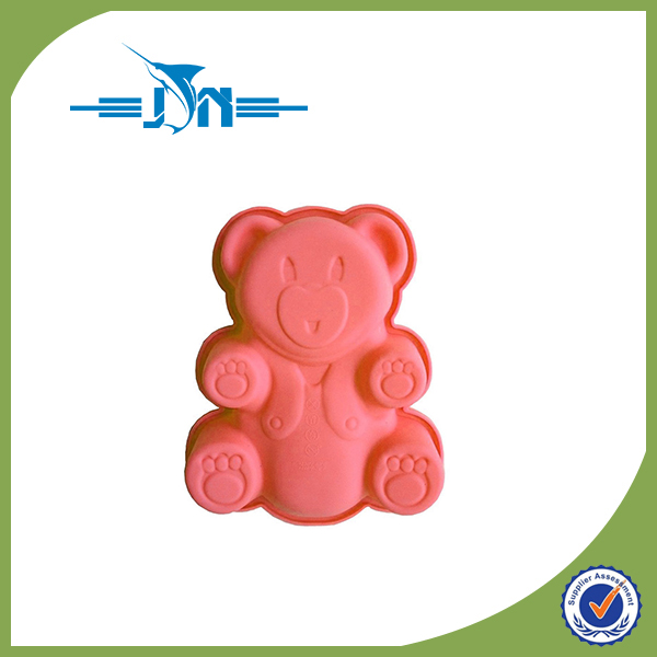 Hot selling non-stick silicone cake mould/chocolate mold for wholesales
