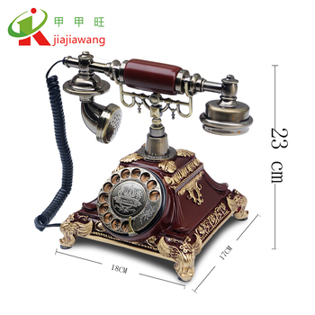 2019 The best european quality corded antique telephone /retro style landline phone