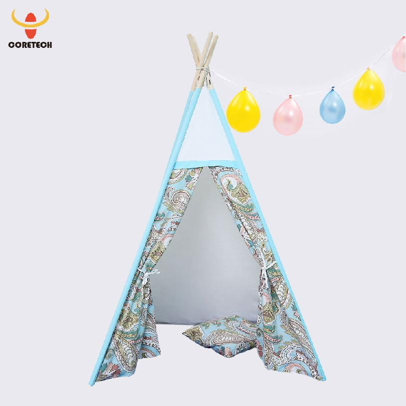 teepee tent colorful kids outdoor tents