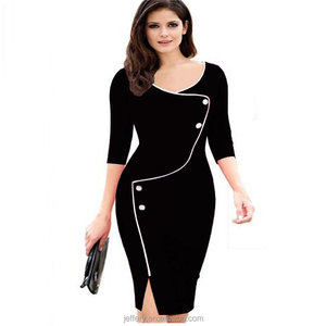 70795263309a Office Lady Formal Dress, Office Lady Formal Dress Suppliers and  Manufacturers at Alibaba.com