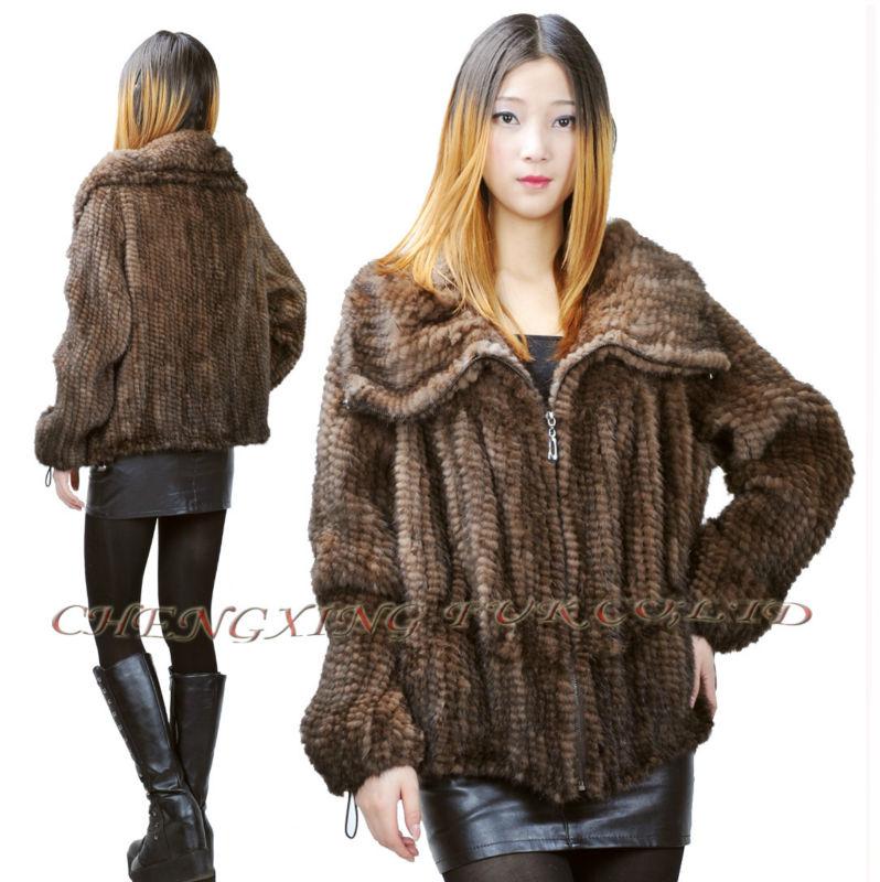 купить трикотажные норки пальто оптом из китая