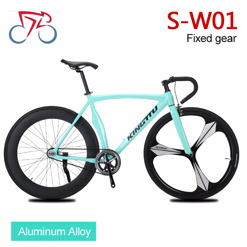 Single speed 700c fixed gear bike aluminum alloy road bike from Chinese bicycle factory