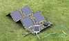 Foldable and flexible solar charger for laptop mobile phone