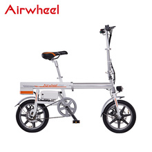 Airwheel R6 compact folding electric bike for supermarket