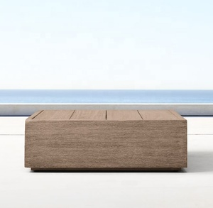 New arrival wooden outdoor patio garden teak coffee table
