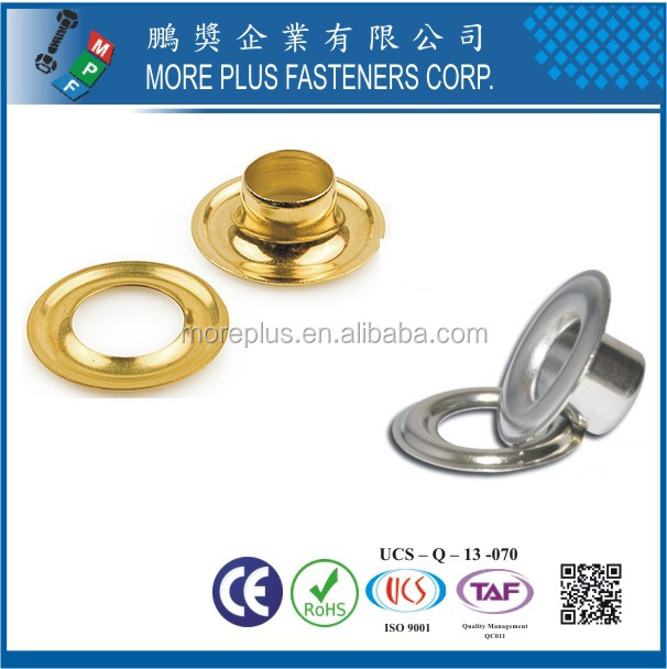 Made in Taiwan High Quality Low Price Round Metal Sheet Grommet