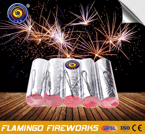 Wholesale price 3M 20S Stage Ice Fountain Silver cake fireworks candle