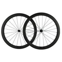 24 inch carbon bicycle wheels high quality carbon wheels 50mm matt black for road bike use