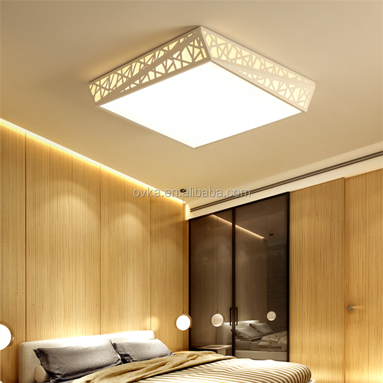Color Changing Acrylic Ceiling Indoor Lighting Living Room Decorative Led Lights Home Decor Light Contemporary