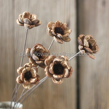 Dried flower hand made artificial lotus flower wire bending stem dried flower hand made artificial lotus flower wire bending stem mightylinksfo