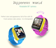 New Kids Wristwatch Q730 3G GPRS GPS Locator Tracker Anti-Lost Baby Watch With Camera For IOS Android