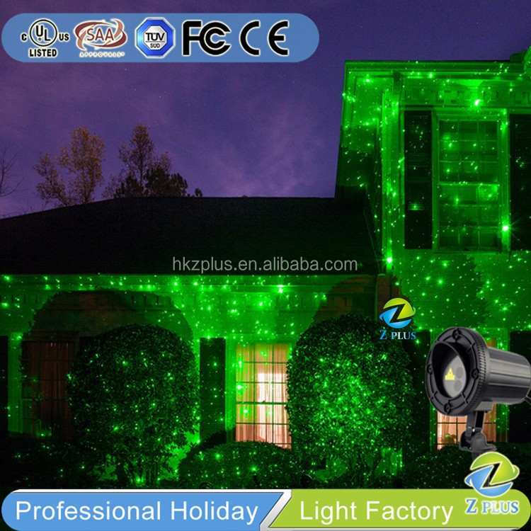 Green ELF IP44 Outdoor laser light