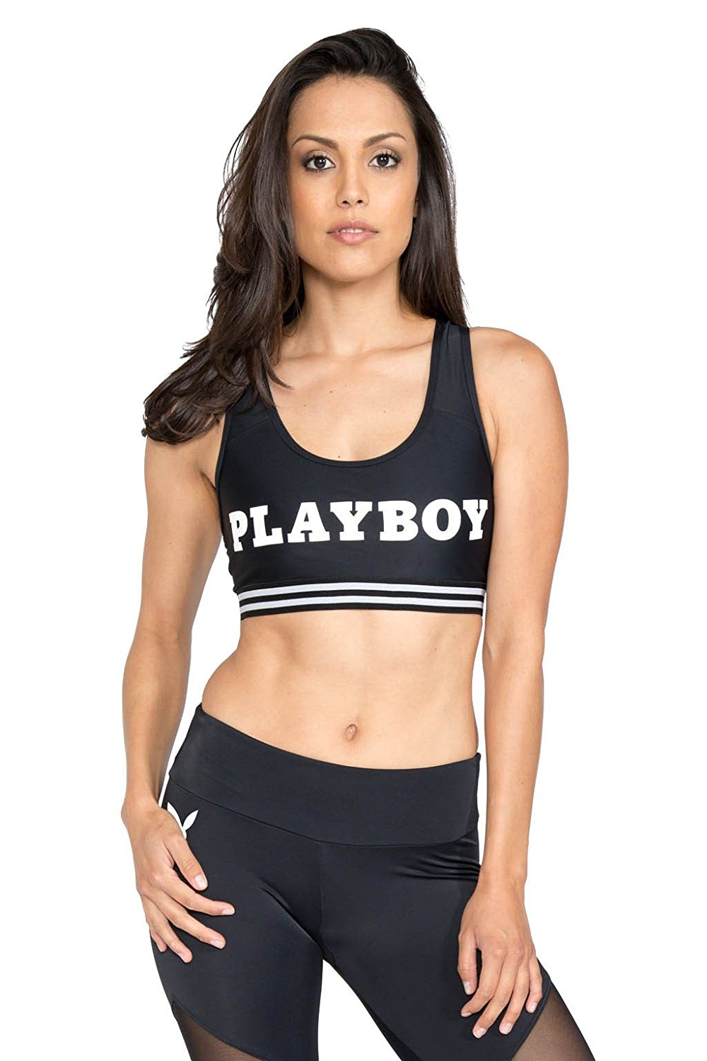 2f1f1af4bb65f Get Quotations · Onzie x Playboy Women s Playboy Sports Bra