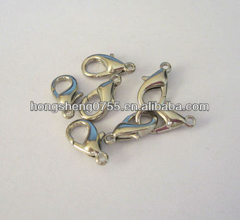 High Quality Lobster Clasp Crimping Tube Metal Crimp Clasp