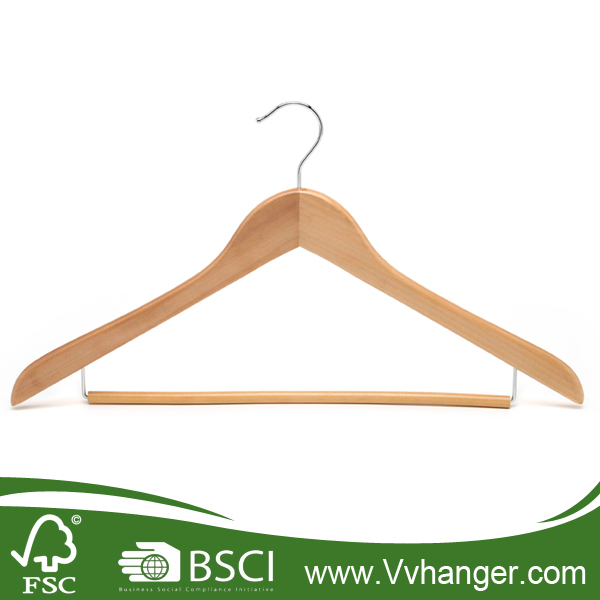 Fashion Beautiful Dress wooden coat hanger stand