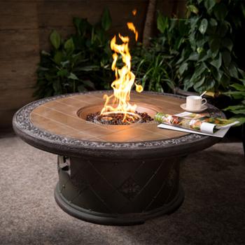 Nieuw Outdoor Gas Vuurkorf Tafel Fire Kom - Buy Outdoor Fire Tafel HM-04