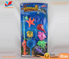 Summer baby toys magnetic kids fishing rod game toys