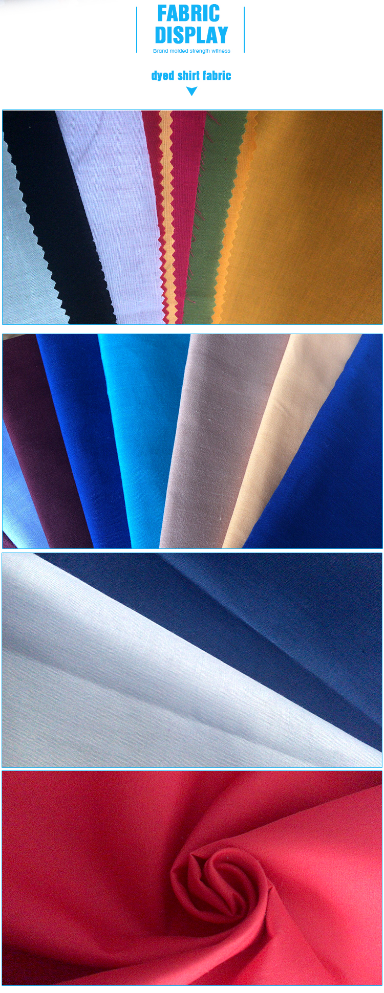 Linen Stock Cotton Polyester Shirting Fabric Stocklot