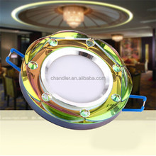 3W high power Crystal led downlights,Indoor led Ceiling lighting