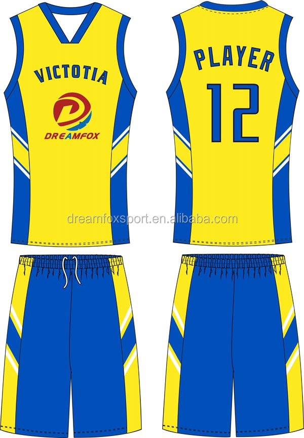 basketball jersey color yellow