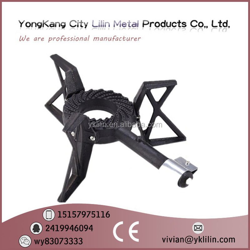 High Quality Factory Price Cast Iron Burner Manufacturers