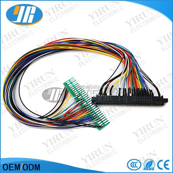jamma cable extender with plastic cover game accessory for amusement pvc wiring harness cover jamma cable extender with plastic cover game accessory for amusement machine 28 pin wires