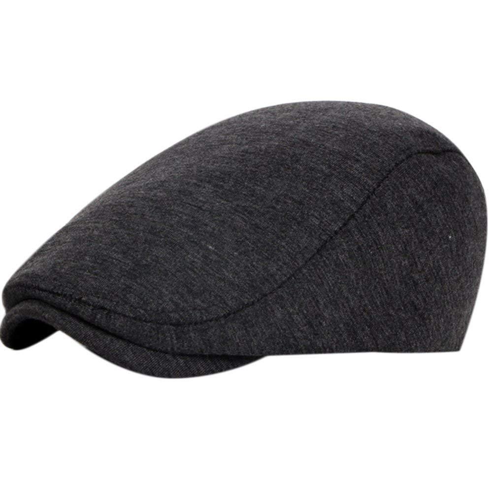 5d55db3954e Get Quotations · Demarkt Retro Unisex Golf Driving Beret Newsboy Caps Hats  Tweed Flat Cap Classic Herringbone Tweed Ivy