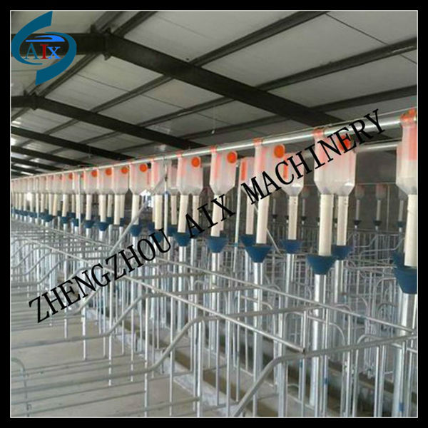 Easy cleaning pig fatten cage for pig farm