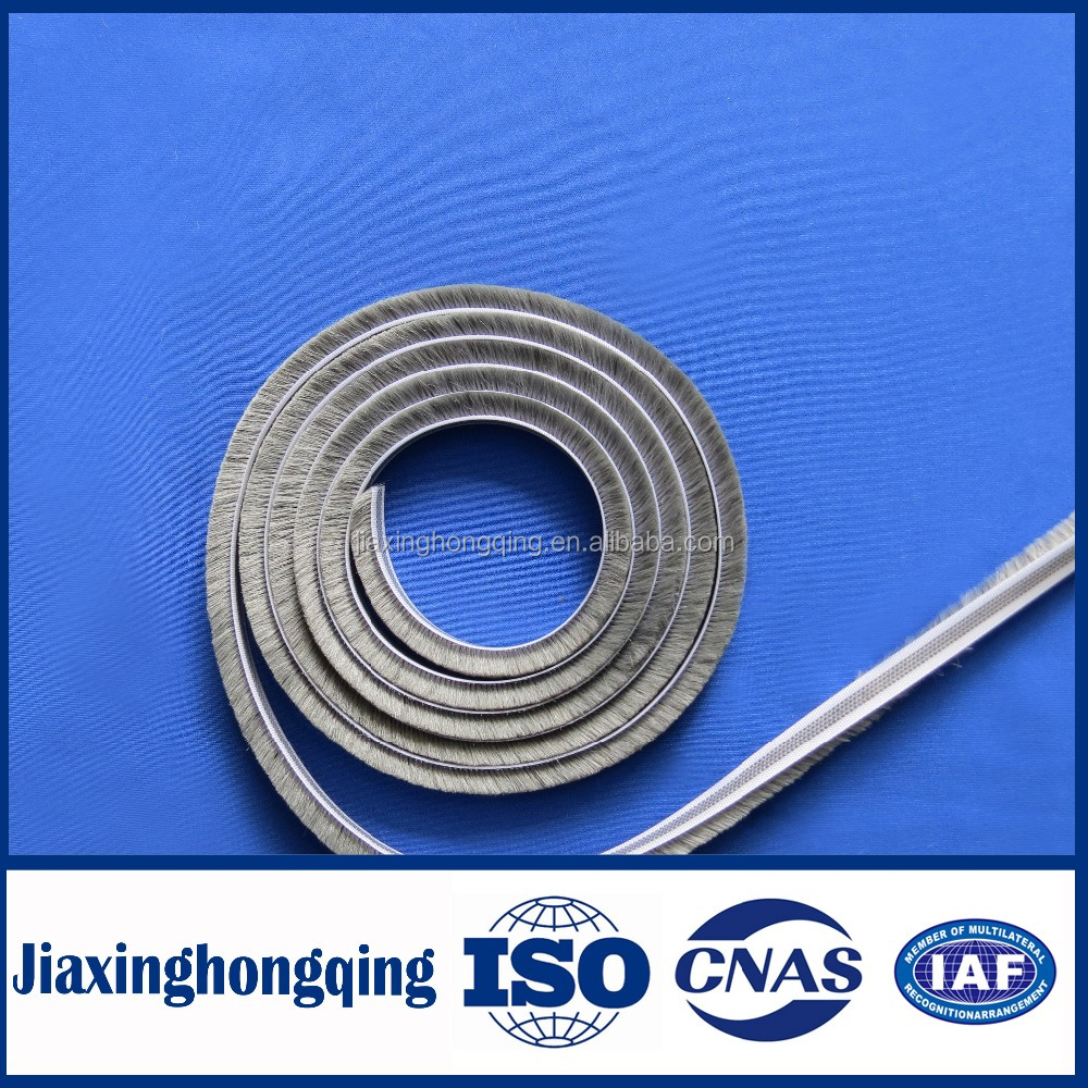 window screen monofilament seal, brush weather strip for dust proof
