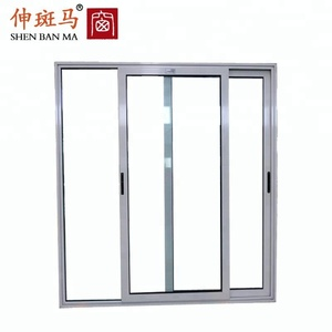 High Quality PVC Steel Glass Sliding Doors