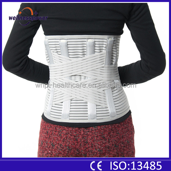 China suppliers elastic lumbar traction back support