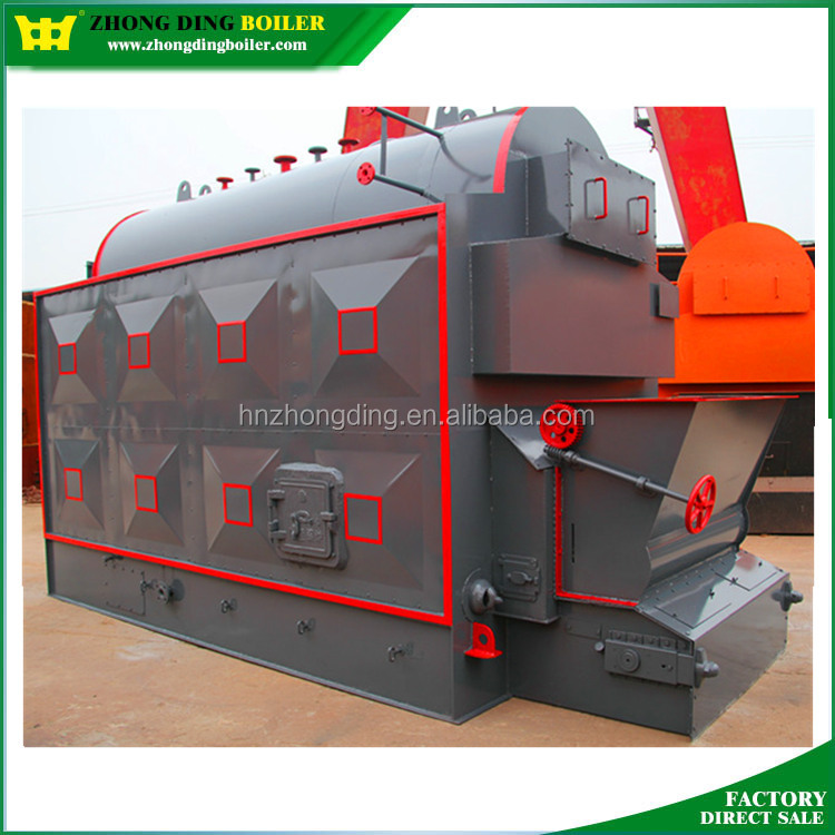 Compact Structure DZL Series 5ton wood pellet 150 psi sunflower husk steam boiler