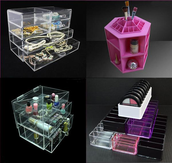Wholesale Chian factory Colorful Clear Acrylic 4 5 6 7 Drawer makeup organizer plexiglass cosmetic drawer plastic drawer