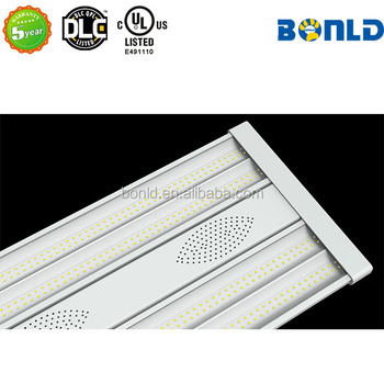 2FT Warehouse use linear highbay DLC UL listed 5 years warranty high lumen 80W led linear high bay