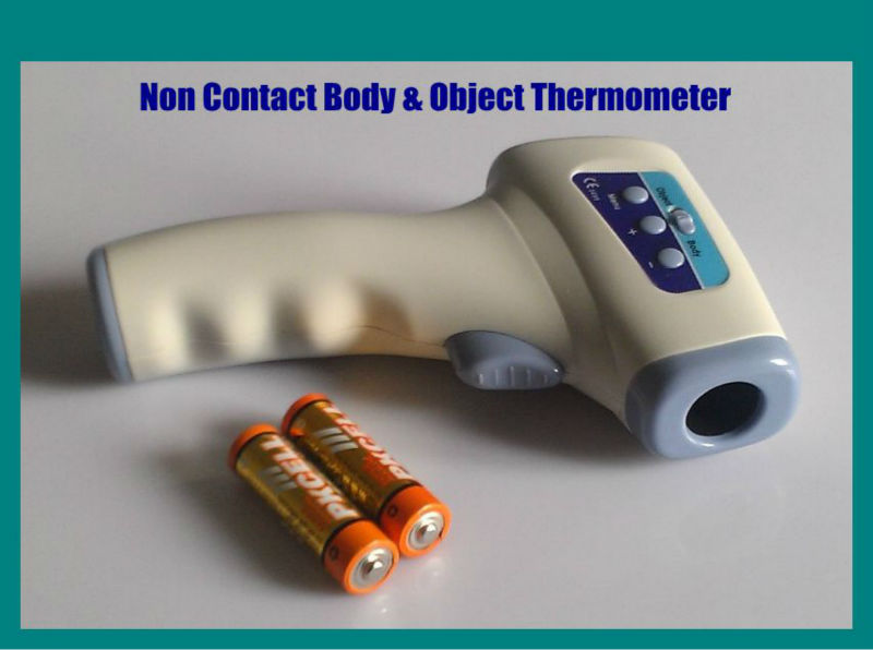 Fever Alarm Alert Body & Object Contactless Infrared Thermometer
