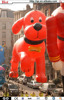 2014 hot sale vivid lovely giant inflatable dog Clifford The Big Red Dog