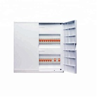 High quality plastic double door distribution board