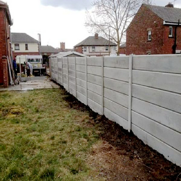 Precast Concrete Fencing : Precast concrete fence molds decorative forms for