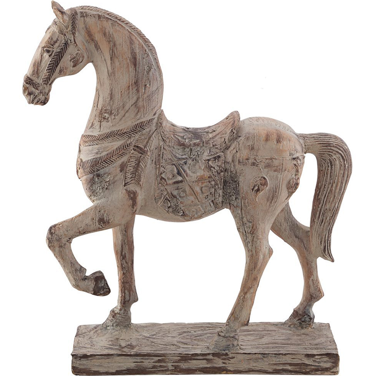 New Custom resina statua cavallo home decor collection regalo
