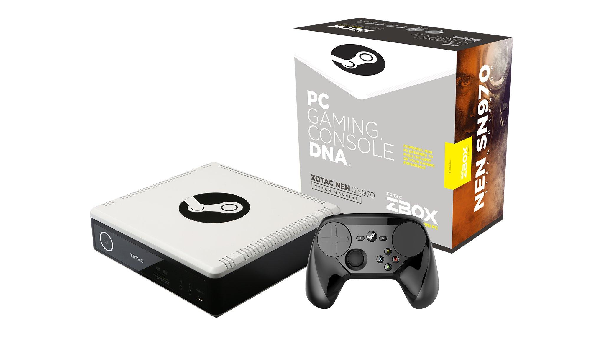 ZOTAC NEN Steam Machine ZBOX-SN970-P-U Gaming Mini PC (Intel Core i5-6400T Quad Core 2.2 GHz, 8 GB, 1TB Hard Drive, NVIDIA GeForce GTX 960 3GB GDDR5)