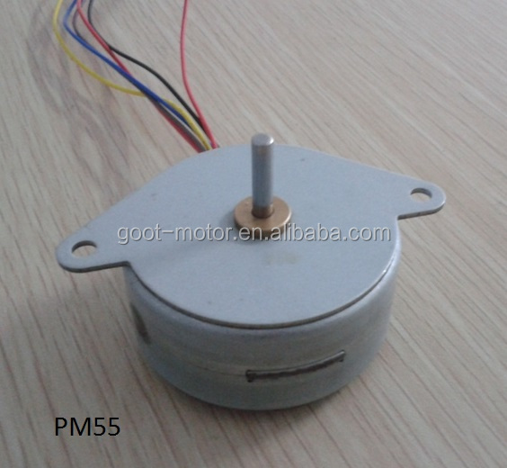 China manufacturing permanent magnet PM 24volts dc stepping motor