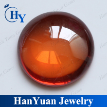 Wholesale glass gems round cut glass cabochon