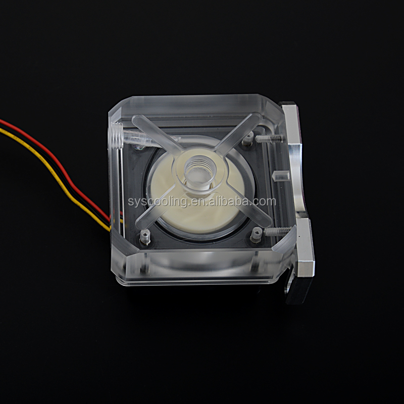 SysCooling new mini water cooling pump high performance for computer hard tube system