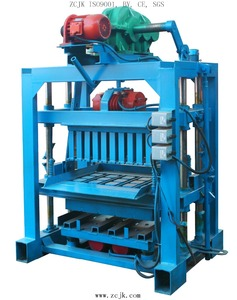 ZCJK4-40 lightweight small investors need projects porous brick making machine