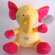 gund baby animated cute soft flappy yellow stuffed elephant plush toys