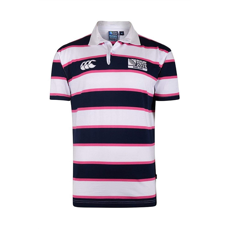 Canterbury Hoop Stripe S/S Rugby Shirt